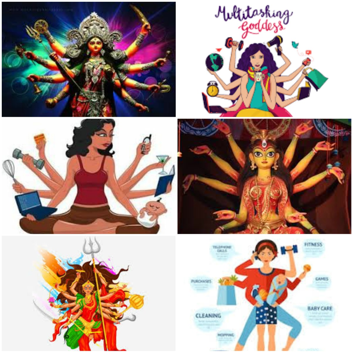 The Multitasking Woman – You call her Durga …. But is that what she wants…?